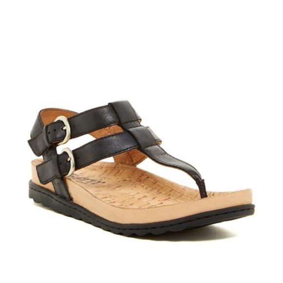 5e55086f80aa Born Shoes - Born Reta Leather T-Strap Sandal